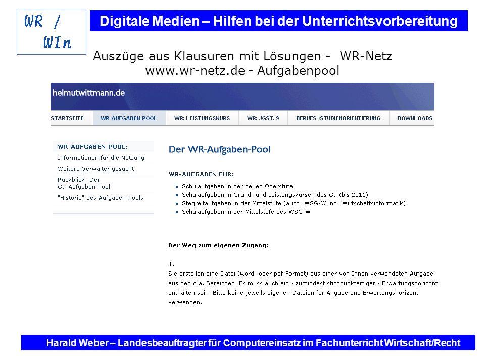 Auszüge aus Klausuren mit Lösungen - WR-Netz www. wr-netz