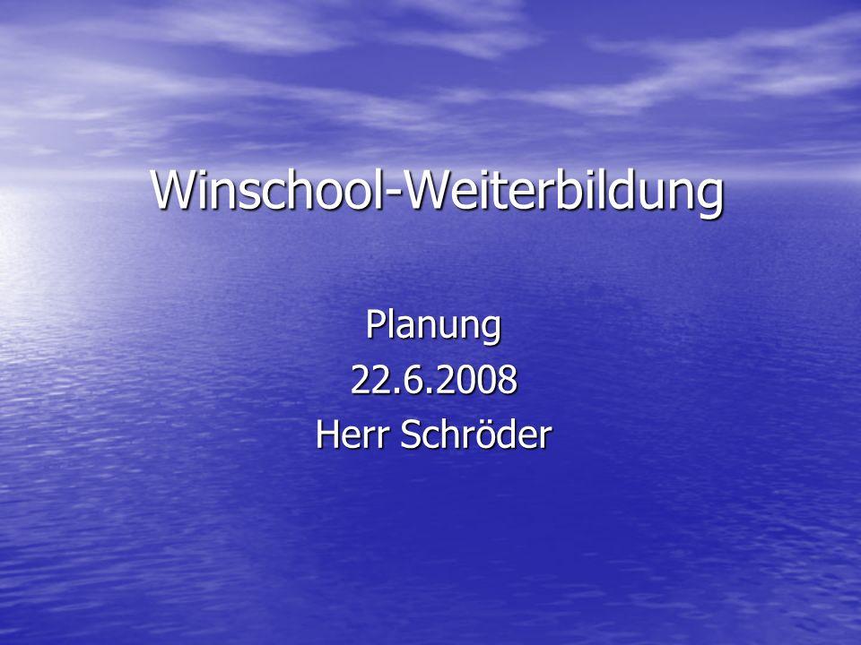 Winschool-Weiterbildung