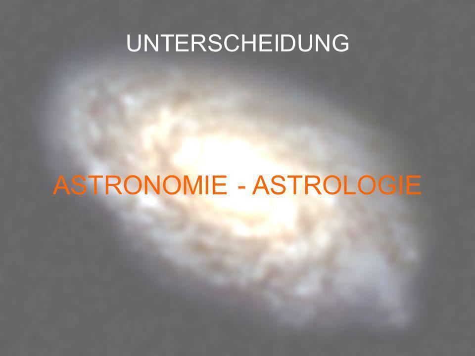 ASTRONOMIE - ASTROLOGIE