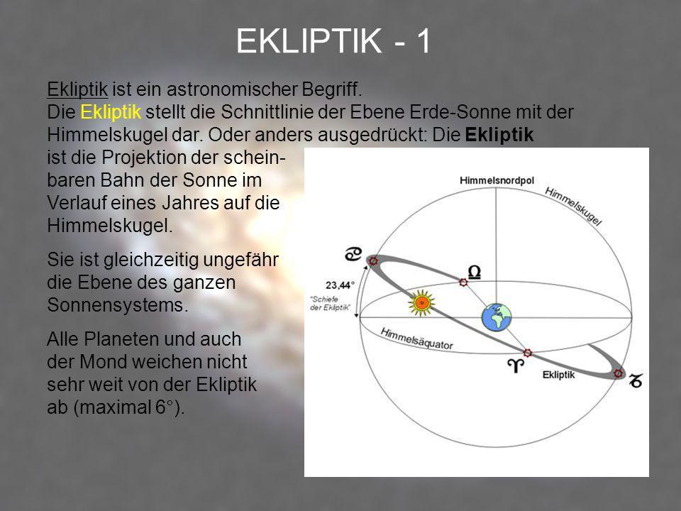 EKLIPTIK - 1