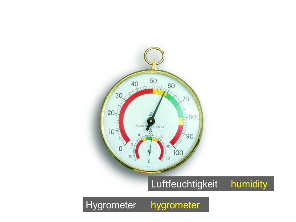 Luftfeuchtigkeit humidity