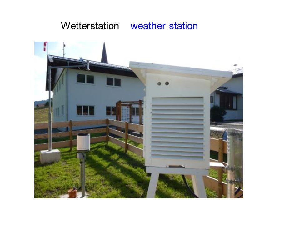 Wetterstation weather station