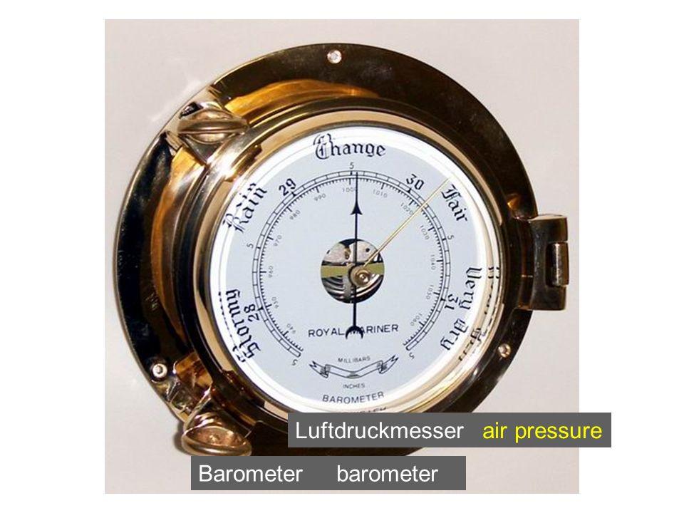 Luftdruckmesser air pressure