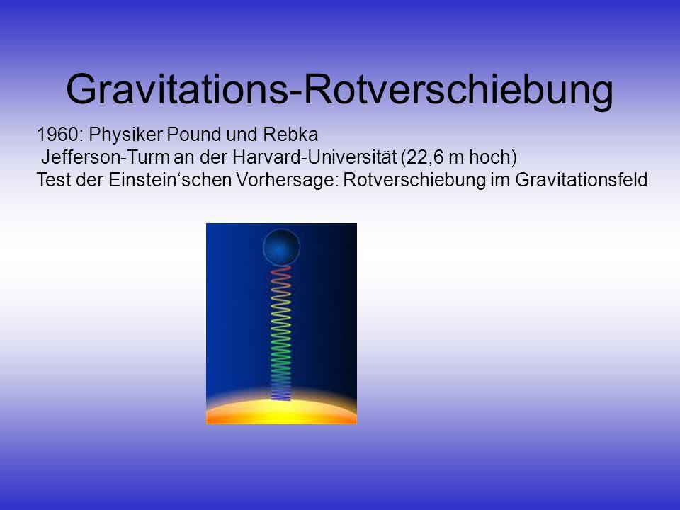 Gravitations-Rotverschiebung