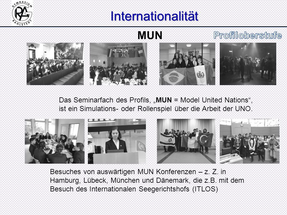 Internationalität MUN