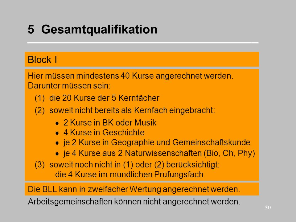 5 Gesamtqualifikation __________________________________