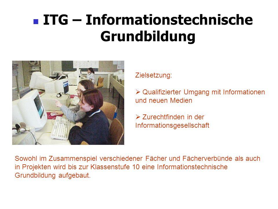 ITG – Informationstechnische Grundbildung