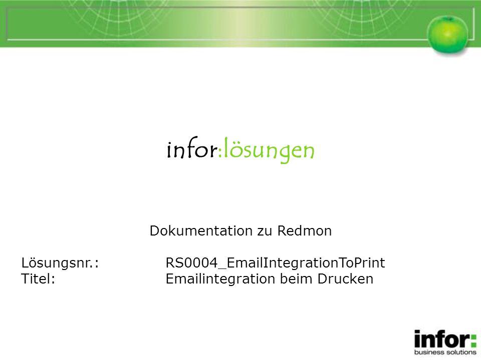 Emailintegration beim Drucken