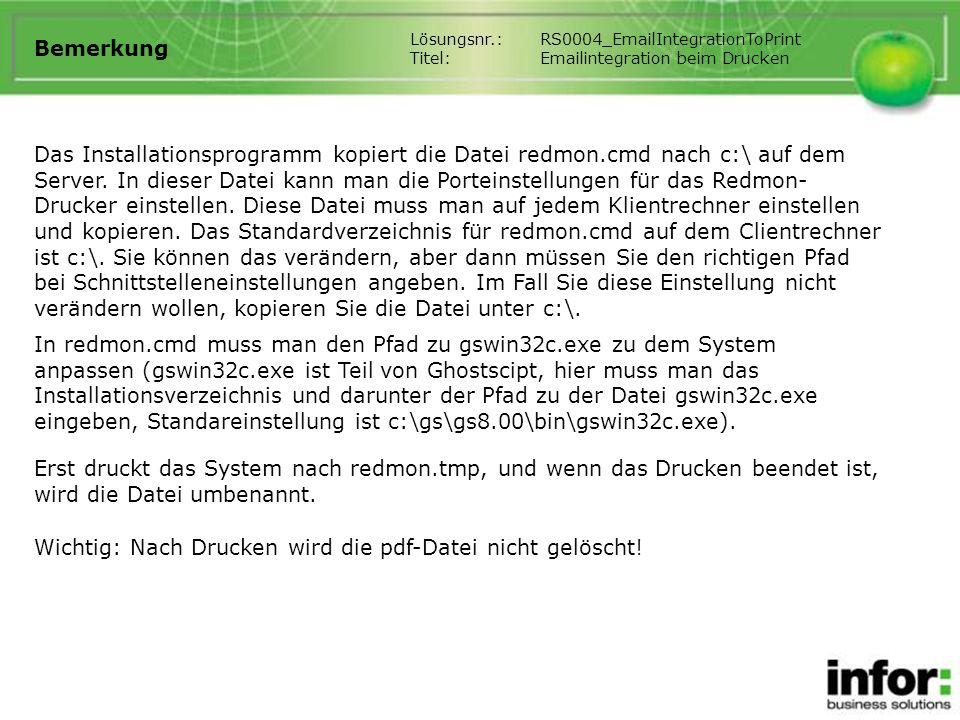 Wichtig: Nach Drucken wird die pdf-Datei nicht gelöscht!