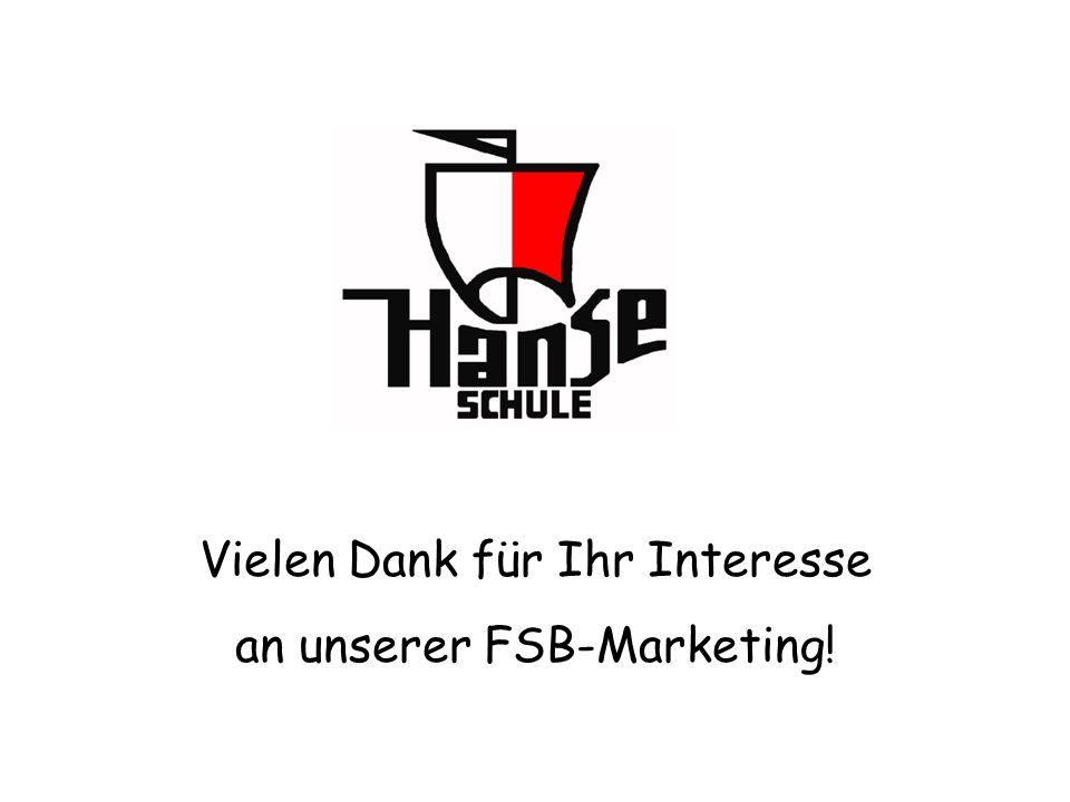 Vielen Dank für Ihr Interesse an unserer FSB-Marketing!