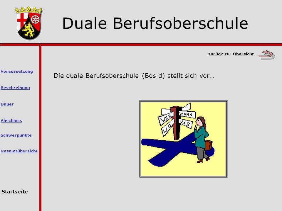 Duale Berufsoberschule