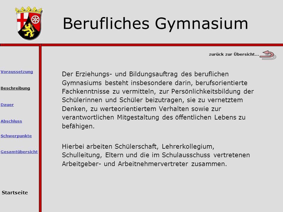 Berufliches Gymnasium