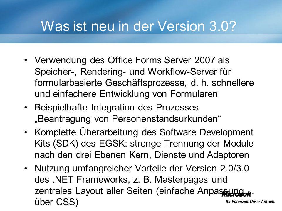 Was ist neu in der Version 3.0