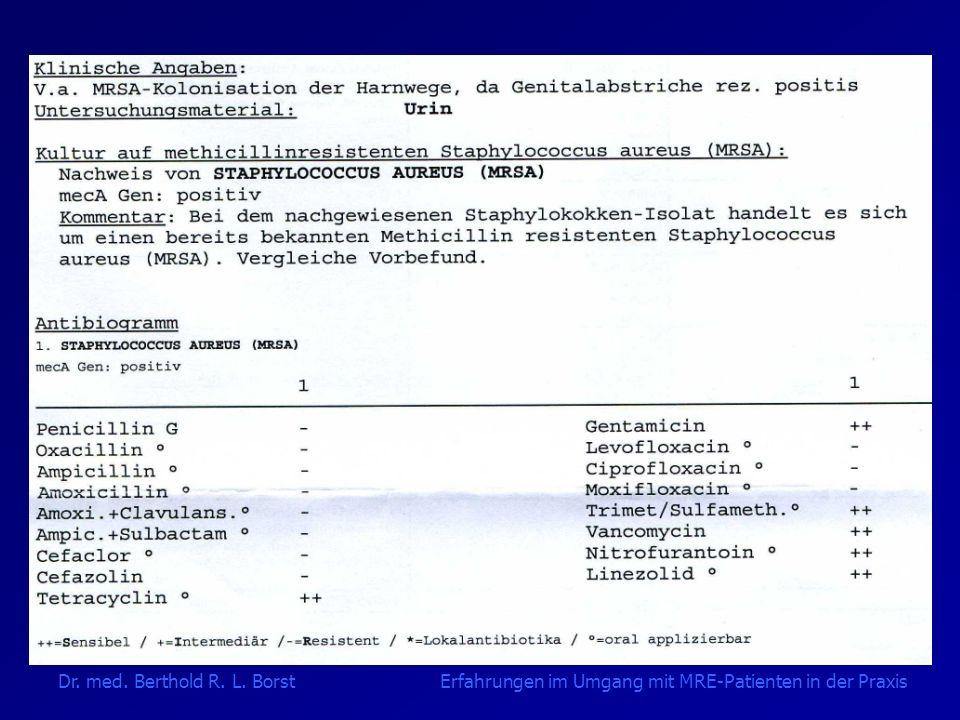Fall 2 - Komplikationen 4x Eradikationsversuche ohne Erfolg