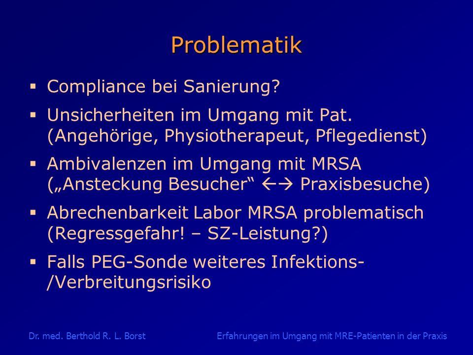 Problematik Compliance bei Sanierung