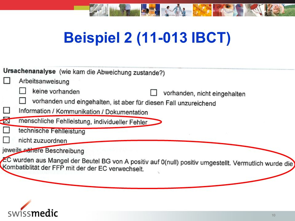 Beispiel 2 (11-013 IBCT) 10 10