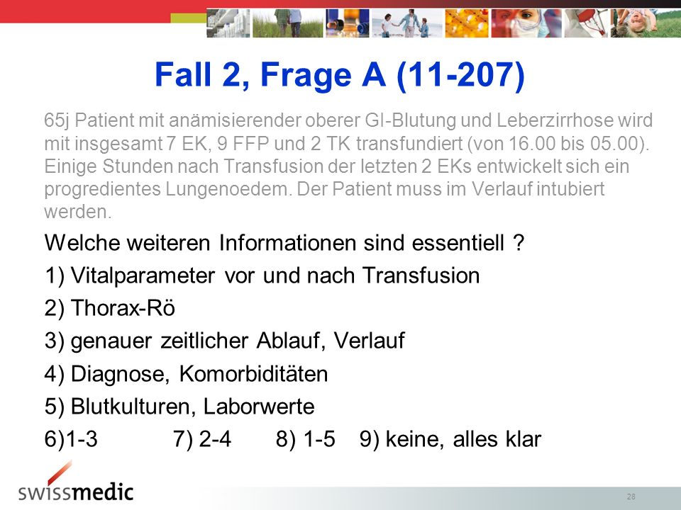 Fall 2, Frage A (11-207)