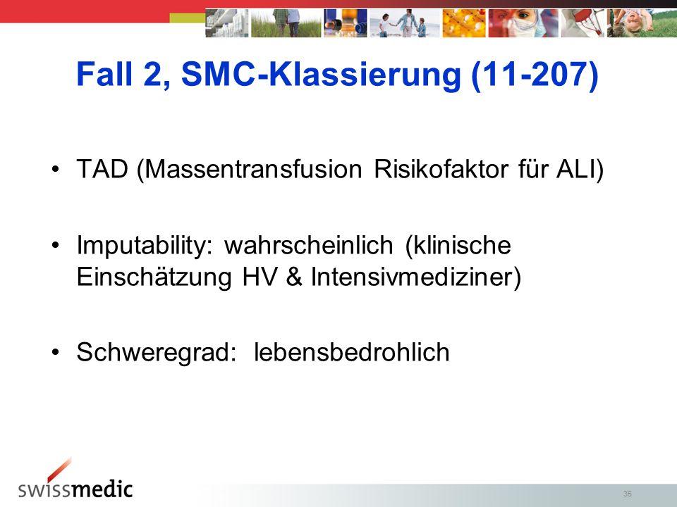 Fall 2, SMC-Klassierung (11-207)