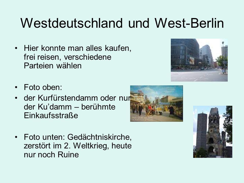 Westdeutschland und West-Berlin