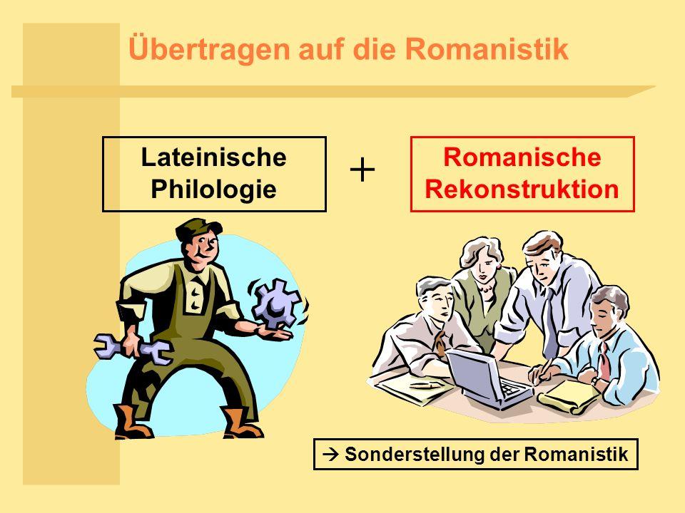 Übertragen auf die Romanistik