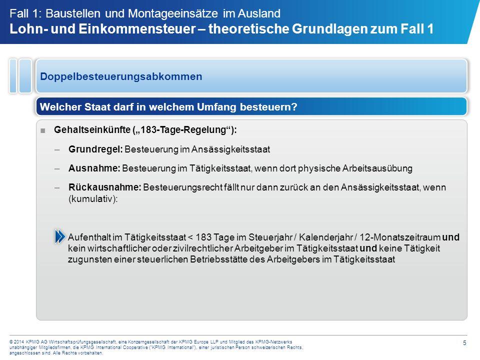 Frage zu Steuer Fall 1 Ist das Gehalt der deutschen Mitarbeiter in den Niederlanden steuerpflichtig