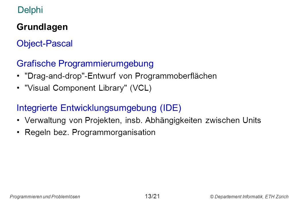 Grafische Programmierumgebung