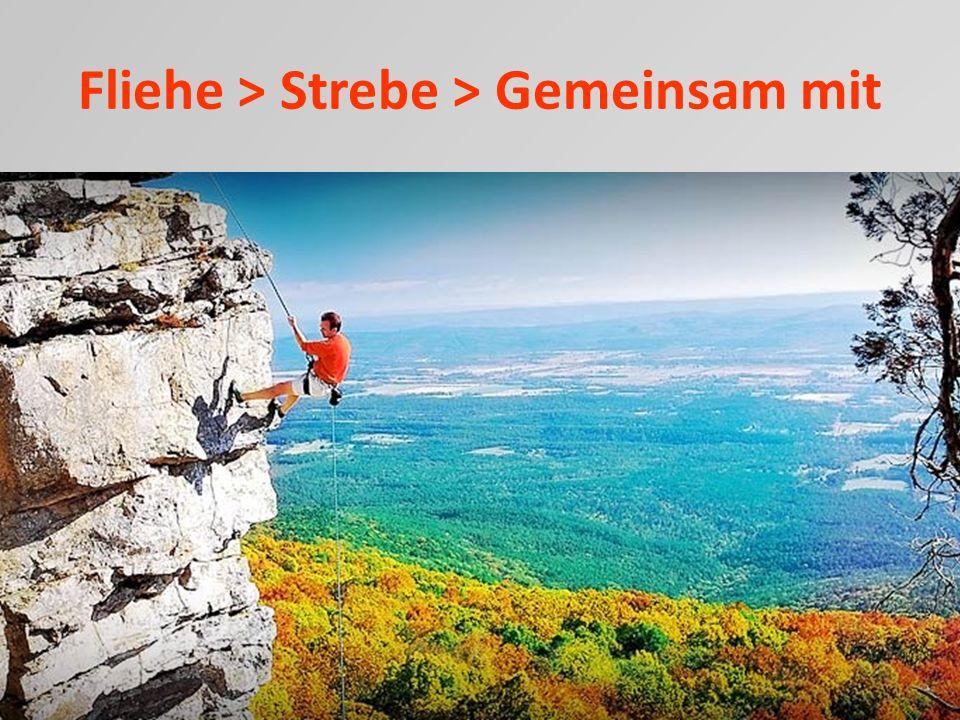 Fliehe > Strebe > Gemeinsam mit