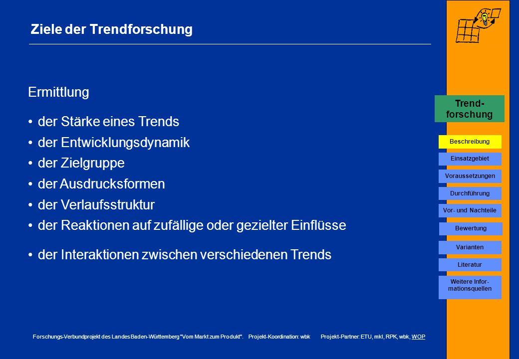 Ziele der Trendforschung