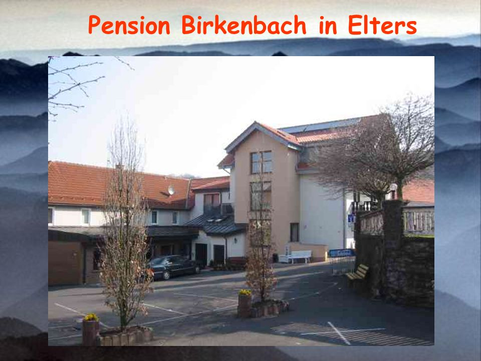 Pension Birkenbach in Elters