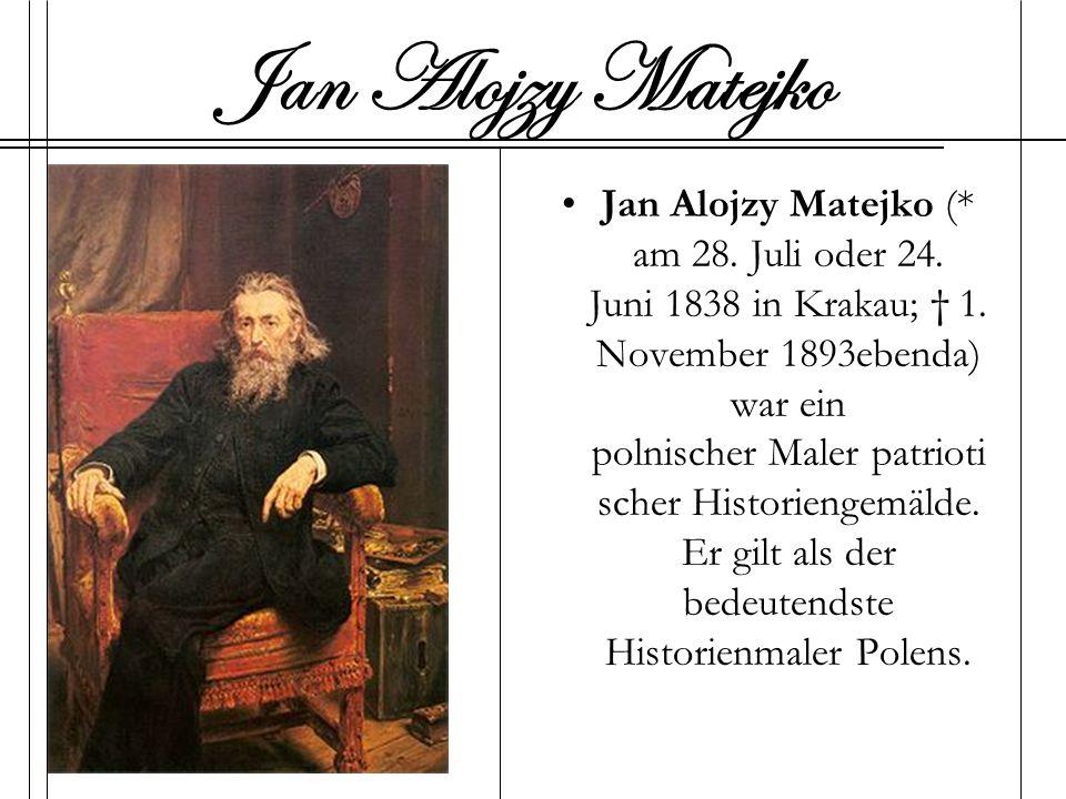 Jan Alojzy Matejko
