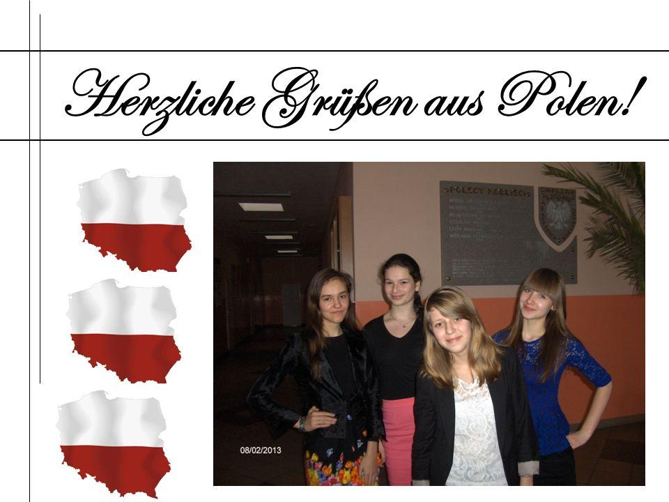 Herzliche Grüßen aus Polen!