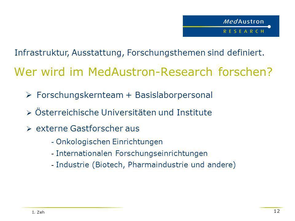 Wer wird im MedAustron-Research forschen