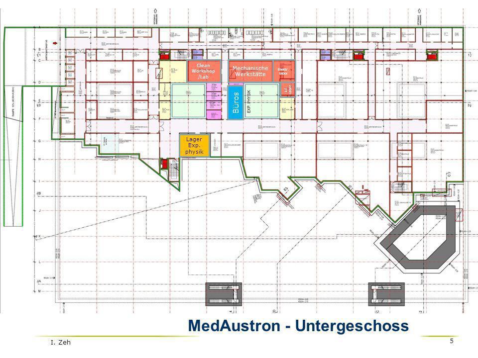 MedAustron - Untergeschoss