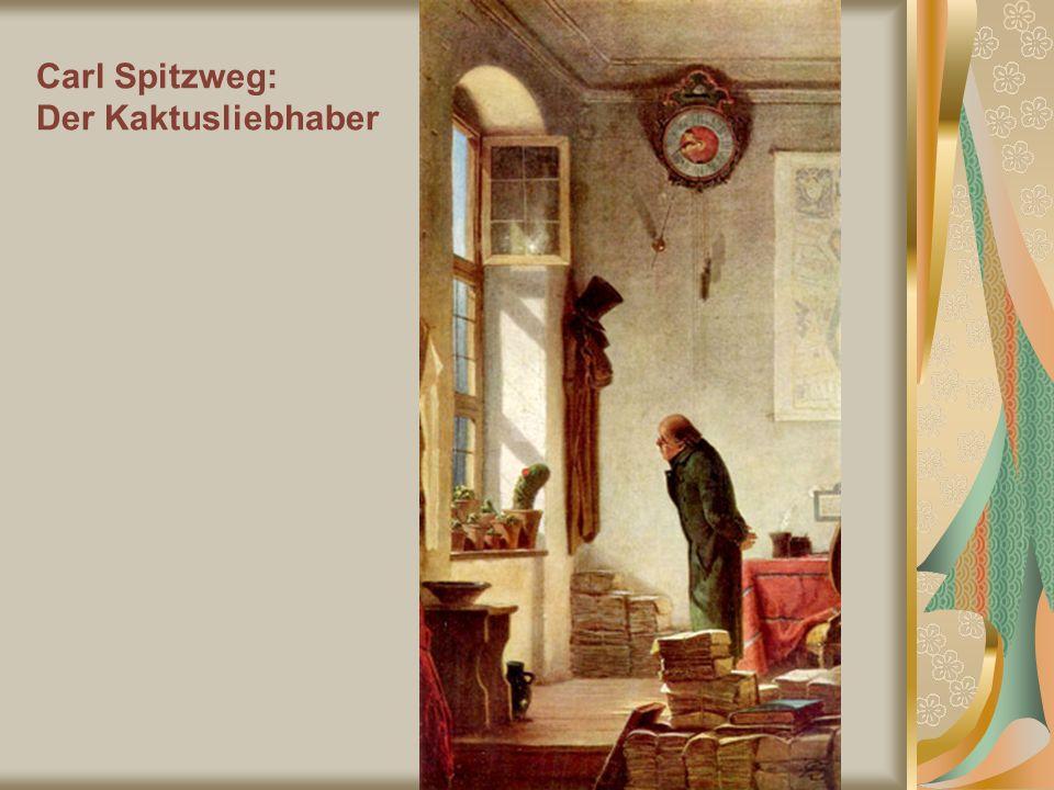 Carl Spitzweg: Der Kaktusliebhaber