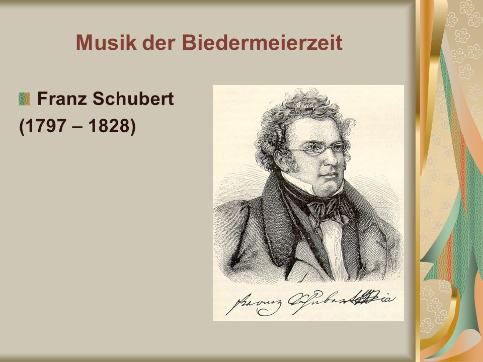 Musik der Biedermeierzeit