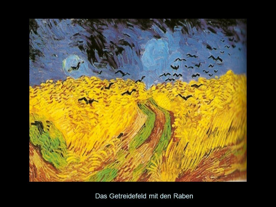 Das Getreidefeld mit den Raben