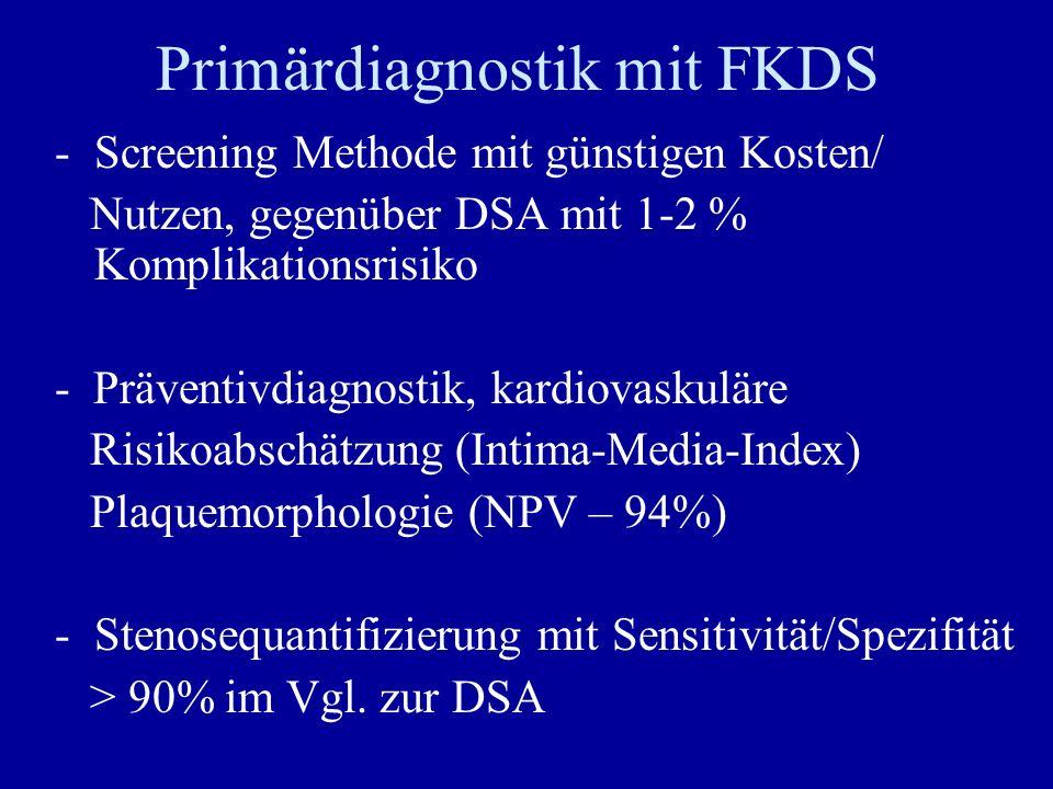 Primärdiagnostik mit FKDS