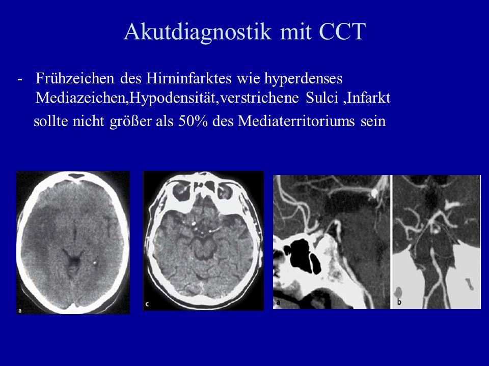 Akutdiagnostik mit CCT