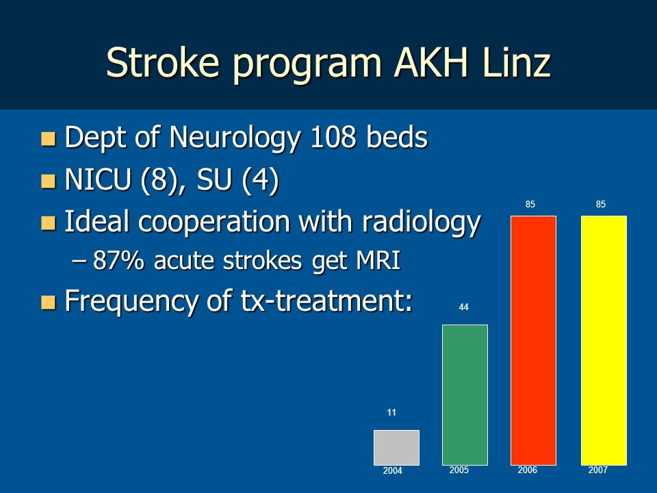 Stroke program AKH Linz