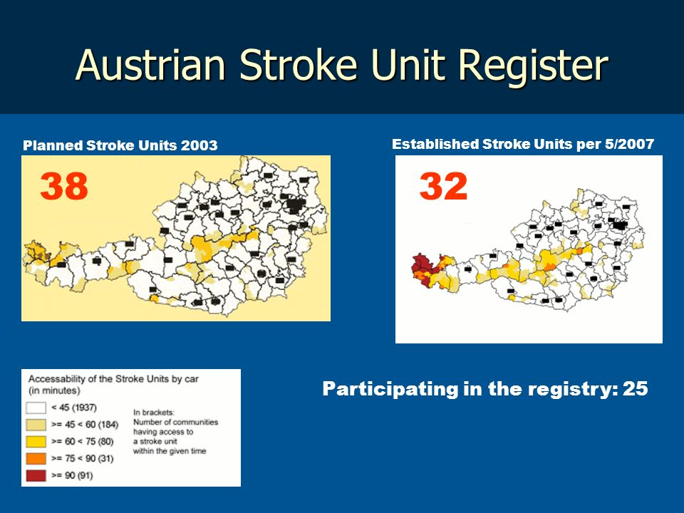 Austrian Stroke Unit Register