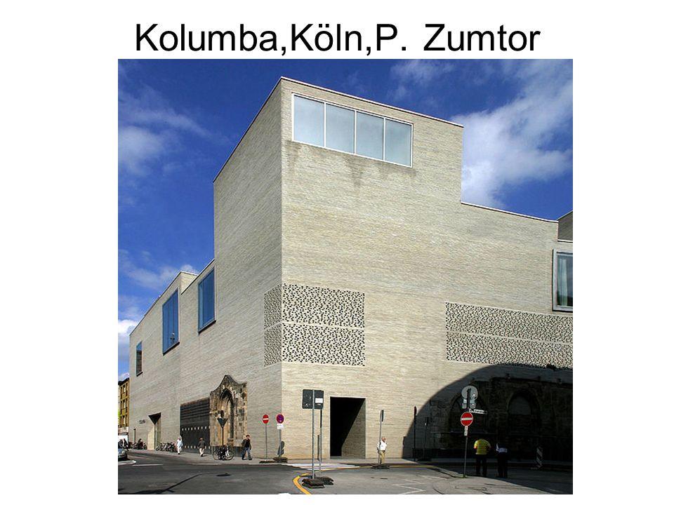 Kolumba,Köln,P. Zumtor