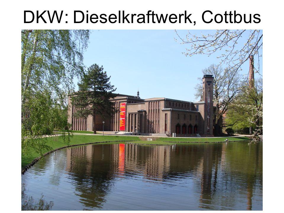 DKW: Dieselkraftwerk, Cottbus