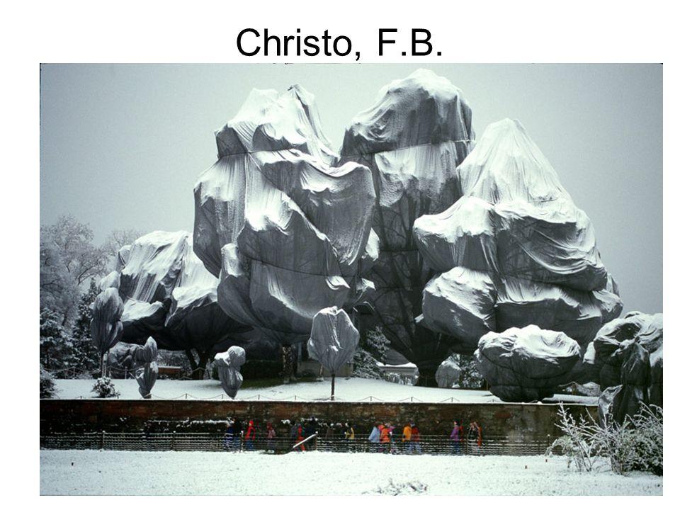 Christo, F.B.