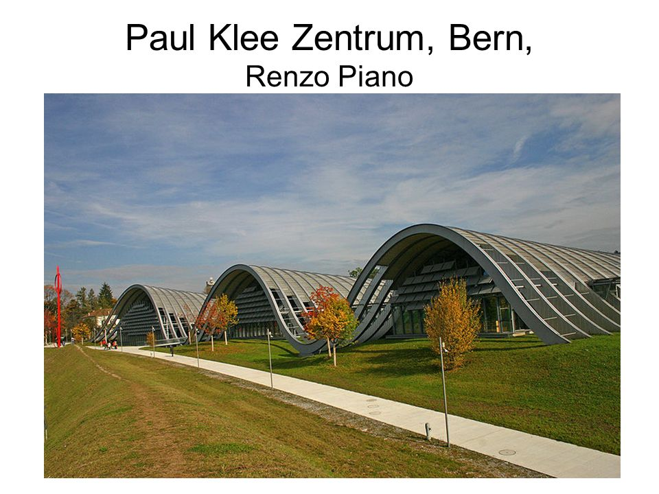 Paul Klee Zentrum, Bern, Renzo Piano