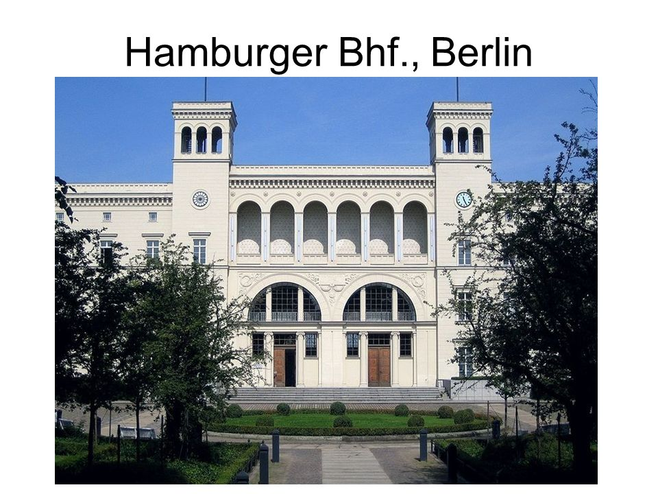 Hamburger Bhf., Berlin