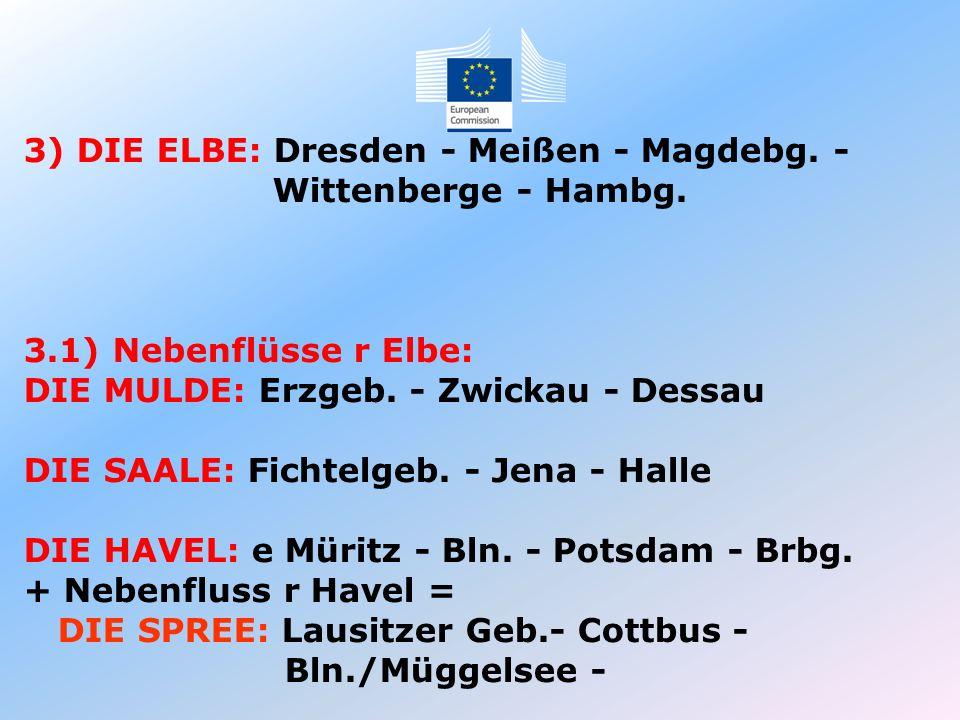 3) DIE ELBE: Dresden - Meißen - Magdebg. -