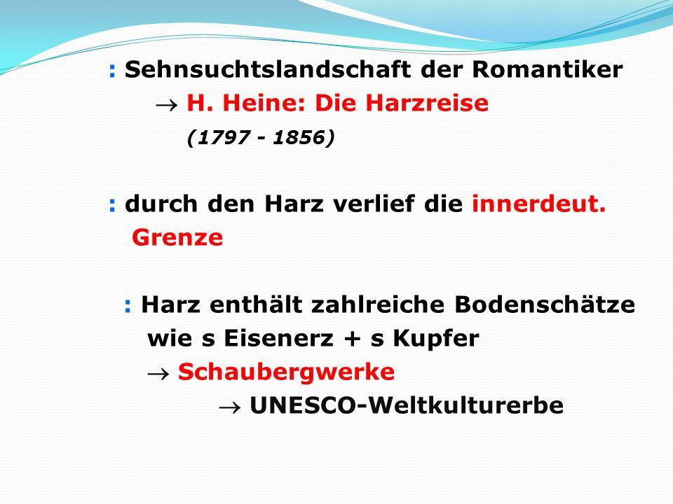 : Sehnsuchtslandschaft der Romantiker  H
