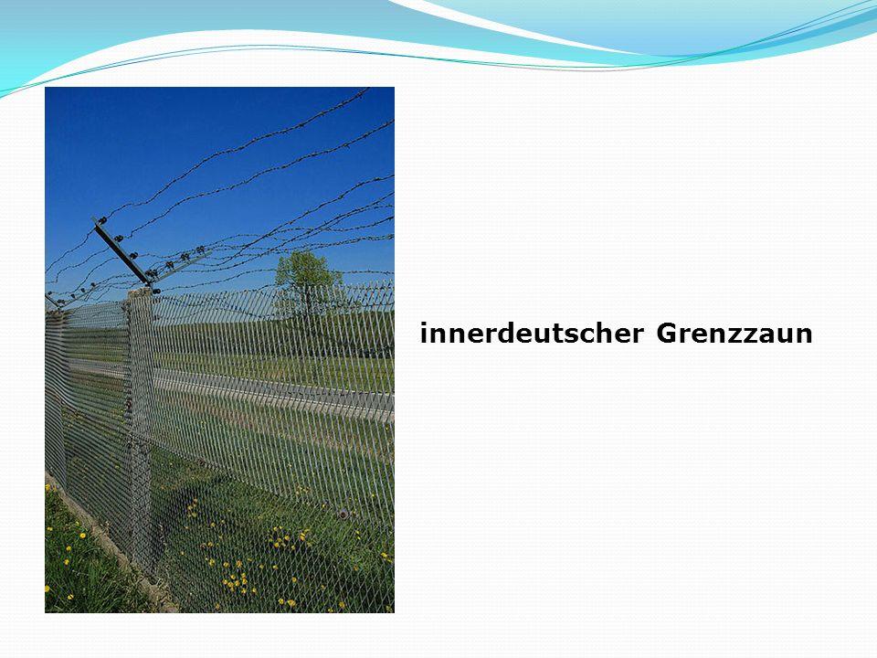 innerdeutscher Grenzzaun