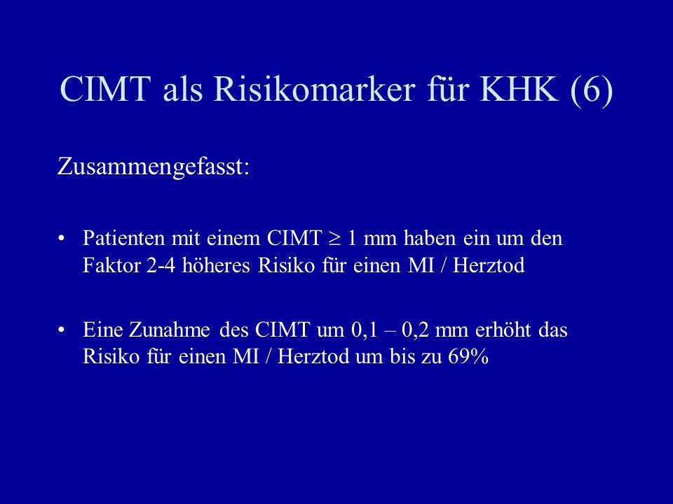 CIMT als Risikomarker für KHK (6)