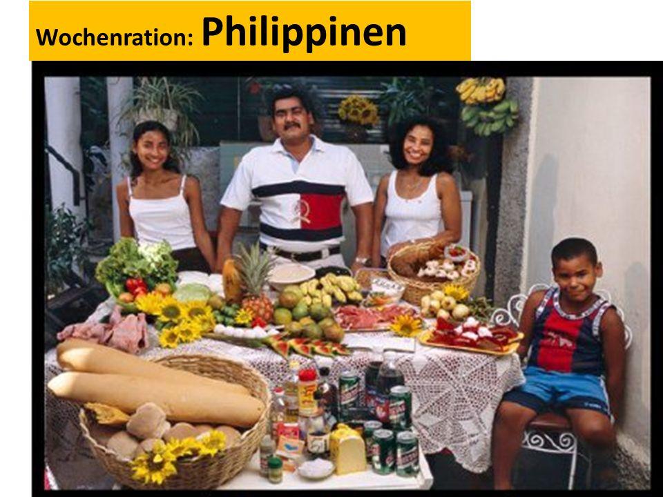 Wochenration: Philippinen